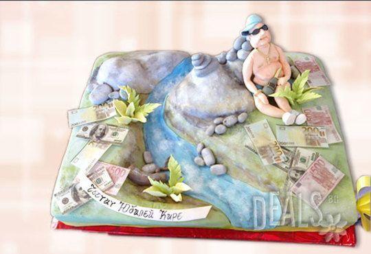Фирмена торта ИЛИ Бутикова АРТ торта - според поръчания дизайн от Сладкарница Джорджо Джани - Снимка 20