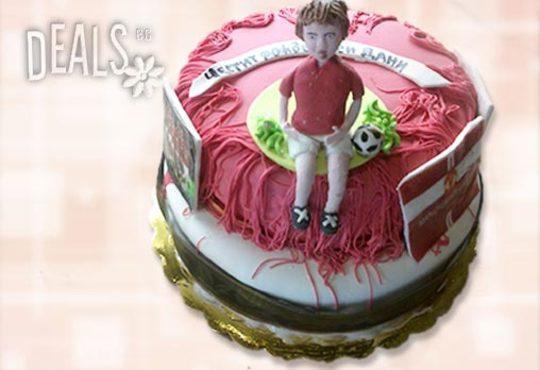 Фирмена торта ИЛИ Бутикова АРТ торта - според поръчания дизайн от Сладкарница Джорджо Джани - Снимка 10