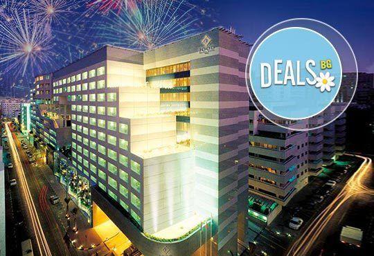 Екзотична Нова година в Дубай! 7 нощувки със закуски в Jood Palace Hotel Dubai 5*, самолетен билет, обиколка на Дубай! - Снимка 1