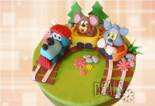 Специално за момчета! Детски торти с коли и герои от филмчета с ръчно моделирана декорация от Сладкарница Джорджо Джани - Снимка 11