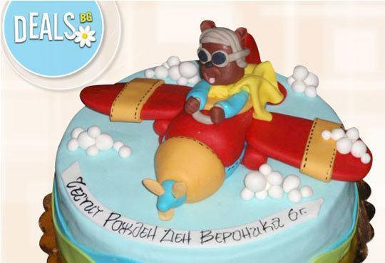 Специално за момчета! Детски торти с коли и герои от филмчета с ръчно моделирана декорация от Сладкарница Джорджо Джани - Снимка 17