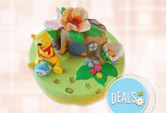 Специално за момчета! Детски торти с коли и герои от филмчета с ръчно моделирана декорация от Сладкарница Джорджо Джани - Снимка 2