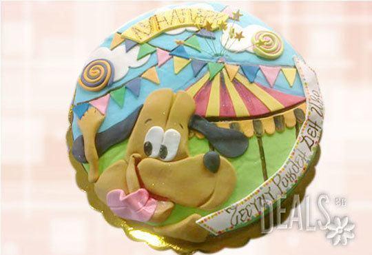 Специално за момчета! Детски торти с коли и герои от филмчета с ръчно моделирана декорация от Сладкарница Джорджо Джани - Снимка 6