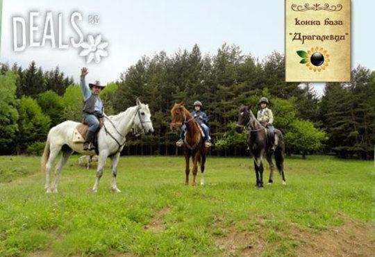 Обичате ли конете? 4 дни обучение по конна езда, общо 210 мин. и преход по избор от конна база Драгалевци - Снимка 2