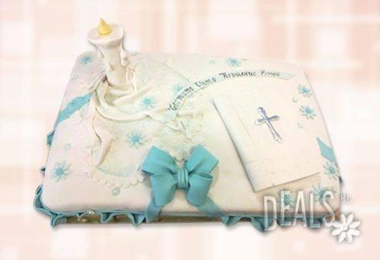 Tортa за изписване от родилния дом или за кръщенe - дизайни на Сладкарница Джорджо Джани - Снимка 7
