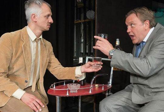 Гледайте великолепните Георги Стайков и Иван Бърнев! Премиера в театър Открита сцена - Кредитът на 01.11. от 19ч. ! - Снимка 3