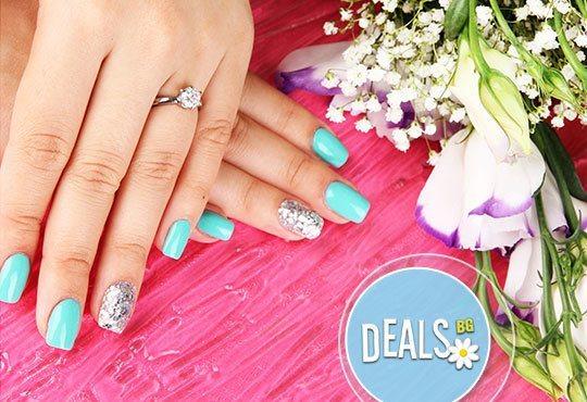 Красиви ръце, както ги пожелаете! Маникюр с лакове LCN и 4 декорации по избор в салон Галакс, Плевен - Снимка 2