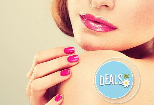 Перфектен маникюр за 14 дни! Цветен маникюр с гел лак BlueSky + подарък сваляне на гел лак в новото Beauty studio DIELS - Снимка 1