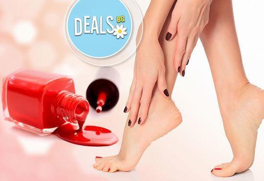 OPI цветове! Арома педикюр и релаксиращ масаж на ходилата ИЛИ педикюр + маникюр с декорации в Салон Пламарски - Снимка 2