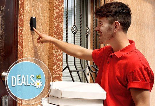 Доставки по домовете! Две големи пици с доставка от Кулинарна къща НИКИ - Снимка 2