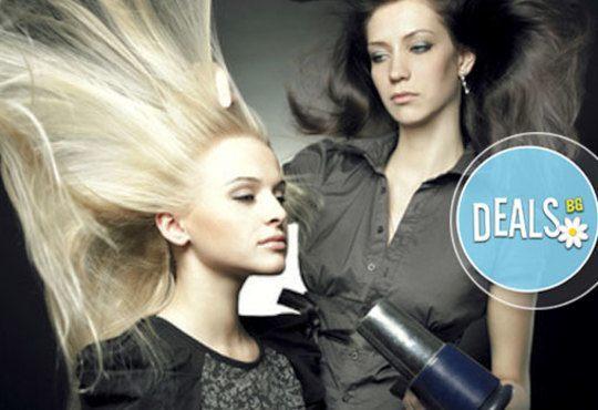 Ново! Биоламиниране на коса с продукти на Helen Seward, измиване, маска, оформяне на прическа от Art studio Loren Uzlova - Снимка 3