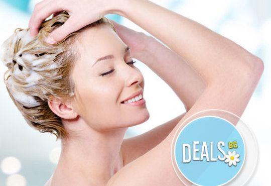 Ново! Биоламиниране на коса с продукти на Helen Seward, измиване, маска, оформяне на прическа от Art studio Loren Uzlova - Снимка 2