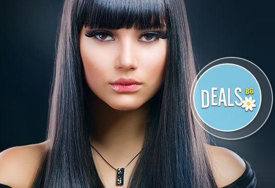 Идеално права коса! Трайно изправяне на коса с кератин Pro-Techs от Art studio Loren Uzlova, Варна - Снимка 1