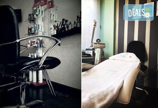 Красива от сутрин до вечер! Възстановяваща кератинова терапия за коса с преса, студио за красота Velesa - Снимка 4