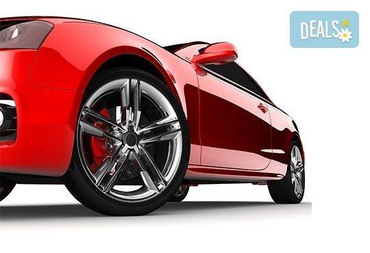 Смяна на 4 броя гуми, монтаж, демонтаж, баланс, тежести и смяна на 4 винтила в сервиз Автомакс 13! Предплатете! - Снимка 3