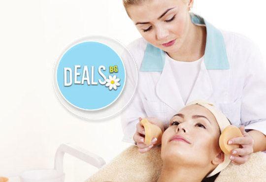 Мануално почистване на лице с медицинската козметика Profi Derm и оформяне на вежди в Студио БЕРЛИНГО до Mall of Sofia - Снимка 1