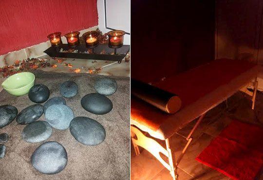 Заредете се с енергийна терапия! Масаж с топли вулканични камъни на цяло тяло във Friends - hair & beauty studio - Снимка 5