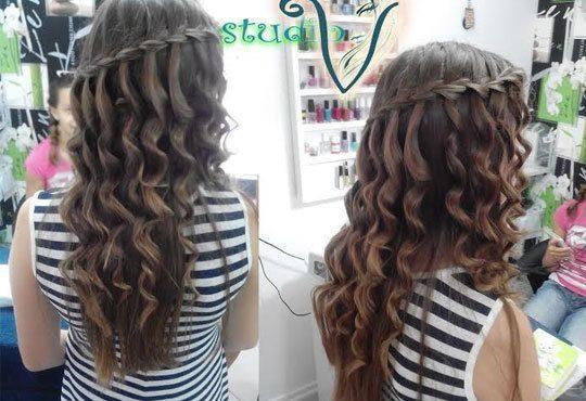 Укротете косата си с възстановяваща арганова терапия плюс сешоар от Салон за красота Studio V, Пловдив - Снимка 5