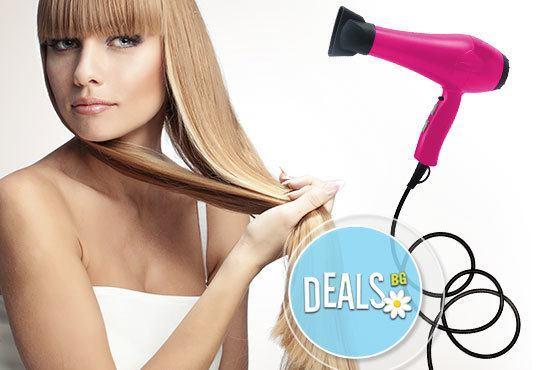 Укротете косата си с възстановяваща арганова терапия плюс сешоар от Салон за красота Studio V, Пловдив - Снимка 2