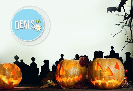 Хелоуин наближава! Подарете на себе си и на детето страшна визия - черно наметало и шапка/домино/рогца от Парти магазин Рая - Снимка 2