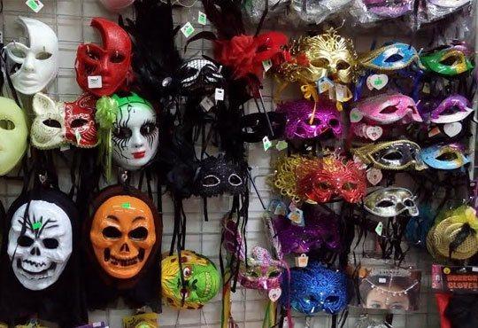 Хелоуин наближава! Подарете на себе си и на детето страшна визия - черно наметало и шапка/домино/рогца от Парти магазин Рая - Снимка 7
