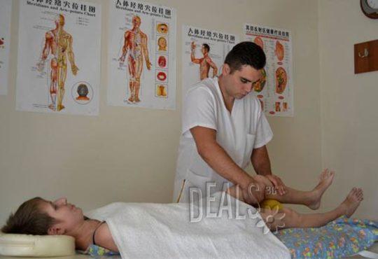 Избавете се от болката! Лечебен масаж от професионален кинезитерапевт при дискова херния в студио за масажи Samadhi! - Снимка 7