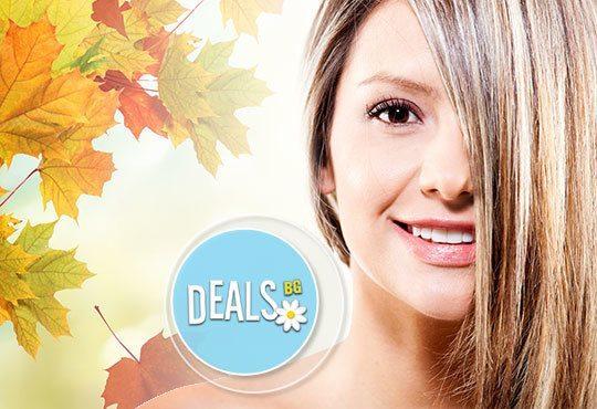 Цветна есен в косите! Кичури с шапка на всяка дължина коса с италианска супра и маска в Салон за красота Belisimas - Снимка 1
