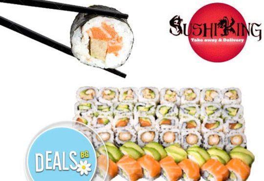 Голямо суши от Sushi King! Вземете 108 перфектни суши хапки в cуши сет Shogun *Special* на страхотна цена! - Снимка 4