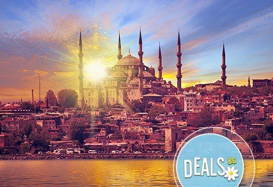 Космополитният Истанбул Ви очаква през ноември или декември! 2 нощувки със закуски, транспорт и екскурзовод! - Снимка 1