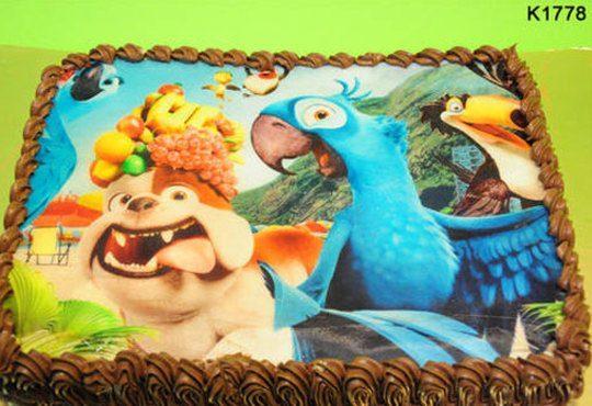 Запомнящ се рожден ден! Вкусна торта /избор от 29 картинки/ и пълнеж по избор от Виенски салон Лагуна! Предплати 1лв! - Снимка 8