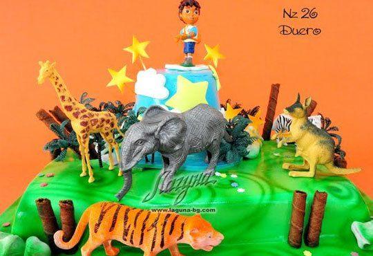 Детска торта с фигурка и пълнеж по избор + кутия, надпис и свещичка от Сладкарница Лагуна!Предплати сега! - Снимка 23