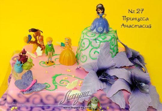 Детска торта с фигурка и пълнеж по избор + кутия, надпис и свещичка от Сладкарница Лагуна!Предплати сега! - Снимка 24