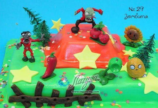 Детска торта с фигурка и пълнеж по избор + кутия, надпис и свещичка от Сладкарница Лагуна!Предплати сега! - Снимка 26