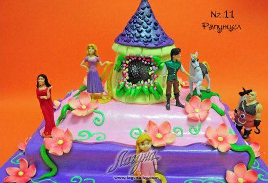 Детска торта с фигурка и пълнеж по избор + кутия, надпис и свещичка от Сладкарница Лагуна!Предплати сега! - Снимка 11
