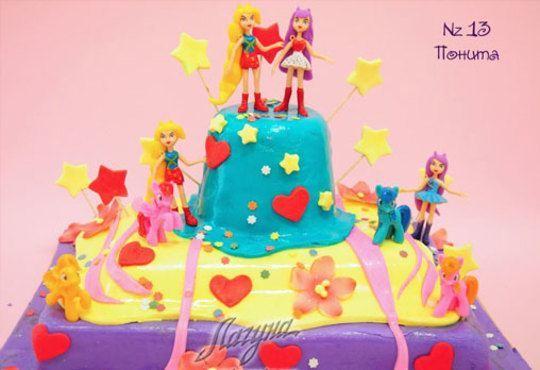 Детска торта с фигурка и пълнеж по избор + кутия, надпис и свещичка от Сладкарница Лагуна!Предплати сега! - Снимка 12