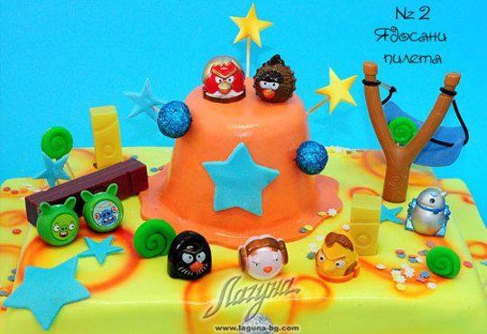 Детска торта с фигурка и пълнеж по избор + кутия, надпис и свещичка от Сладкарница Лагуна!Предплати сега! - Снимка 2