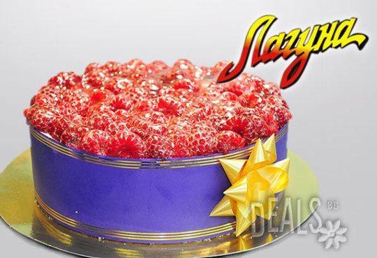 Еклерова торта по избор: с малини, смокини, ягоди или къпини от Виенски салон Лагуна! Предплатете сега 1лв - Снимка 4