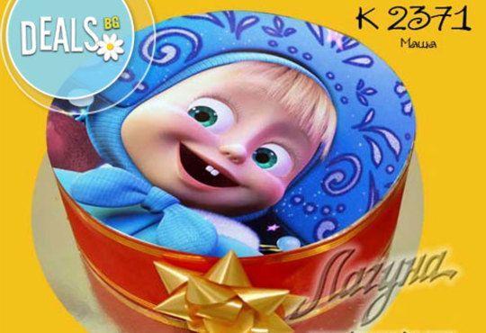 Детска торта с избор от над 2000 декорации, както и вкус по избор от Виенски салон Лагуна! Предплатете сега 1лв! - Снимка 2
