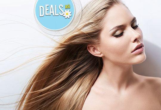 Новата визия Ви очаква! Дамско подстригване и прическа: сешоар или букли с преса в Салон FR - Снимка 2