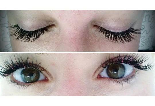 Трайно удължаване и сгъстяване на мигли по системата косъм по косъм във Friends - hair & beauty studio! - Снимка 4