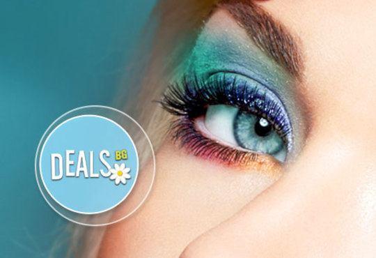 Трайно удължаване и сгъстяване на мигли по системата косъм по косъм във Friends - hair & beauty studio! - Снимка 1