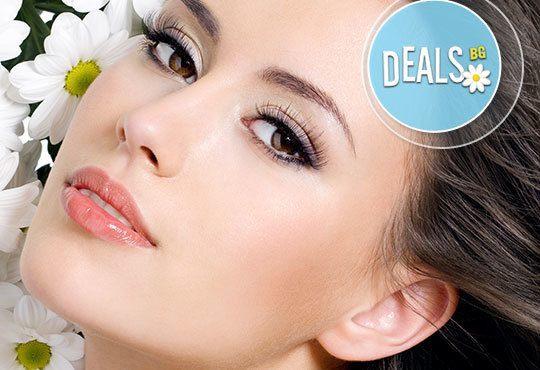 Освежете и стегнете лицето си с безиглена мезотерапия на лице или деколте от Салон Incanto Dream в Студентски град! - Снимка 1