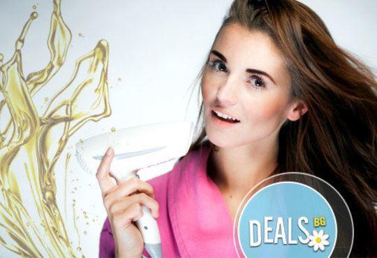Разкош за Вашата коса! Подстригване, активна терапия с маска и прическа със сешоар в BONA DEA Deluxe Hair SPA - Снимка 1