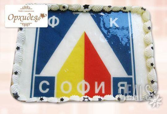 Торта за фирмени партита от Сладкарница Орхидея - 14-16 вкусни парчета на неустоима цена! - Снимка 3