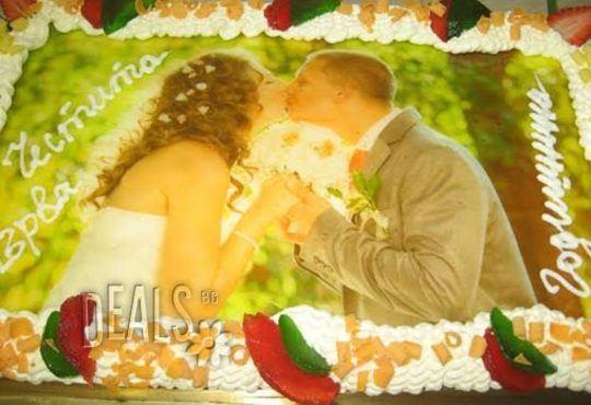 Торта за фирмени партита от Сладкарница Орхидея - 14-16 вкусни парчета на неустоима цена! - Снимка 11