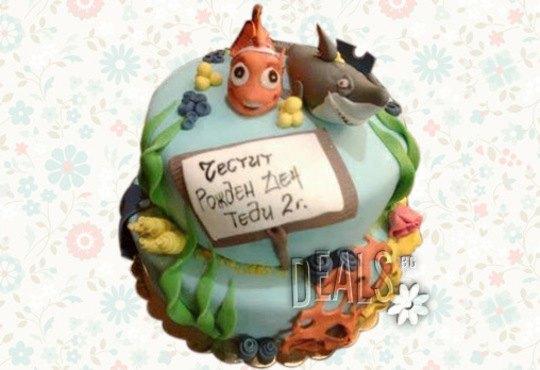 За най-малките! Детска торта с Мечо Пух, Смърфовете, Спондж Боб и други герои от Сладкарница Джорджо Джани - Снимка 37
