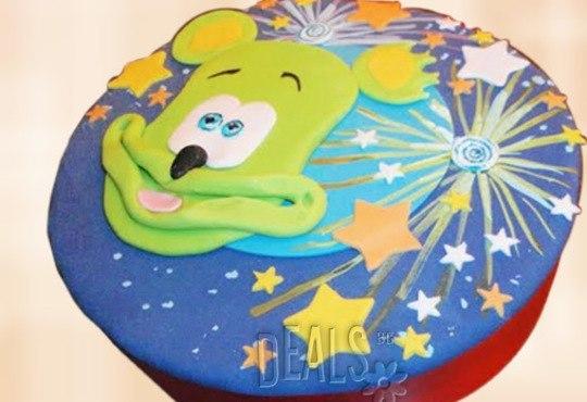 За най-малките! Детска торта с Мечо Пух, Смърфовете, Спондж Боб и други герои от Сладкарница Джорджо Джани - Снимка 38