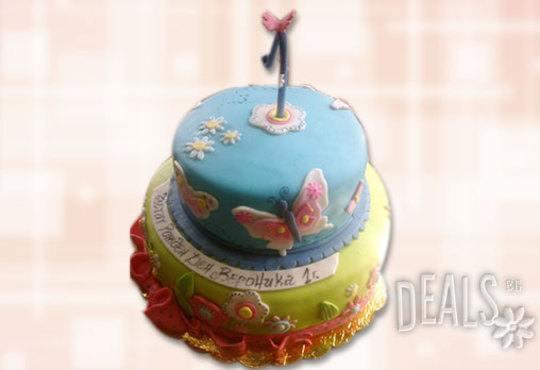 За най-малките! Детска торта с Мечо Пух, Смърфовете, Спондж Боб и други герои от Сладкарница Джорджо Джани - Снимка 40