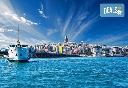 Зимна разходка в Истанбул! 3 дни, 2 нощувки със закуски, хотел 3*, автобусен транспорт, Дениз Травел - Снимка 1