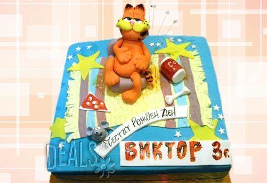 Детска 3D торта с фигурална ръчно изработена декорация от Сладкарница Джорджо Джани! - Снимка 13